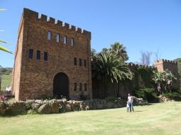 Wijnhuis onderweg naar Stellenbosch