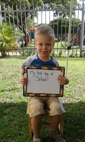 Eerste schooldag na de (hele lange) vakantie!
