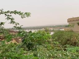 De Niger - in de verte