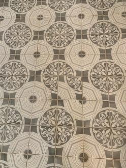 Vloer - en dat het patroon te moeilijk was