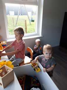 Spelen met Tymen (en zijn speelgoed)
