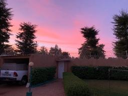Prachtige luchten hier, 's avonds